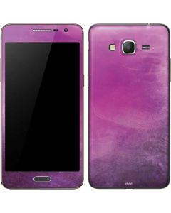 Purple Space Marble Galaxy Grand Prime Skin