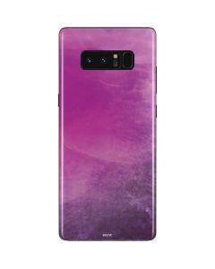 Purple Space Marble Galaxy Note 8 Skin