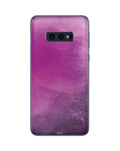 Purple Space Marble Galaxy S10e Skin