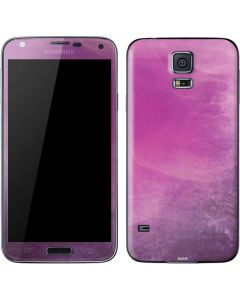 Purple Space Marble Galaxy S5 Skin
