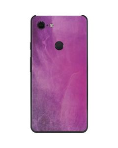 Purple Space Marble Google Pixel 3 XL Skin