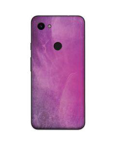 Purple Space Marble Google Pixel 3a Skin