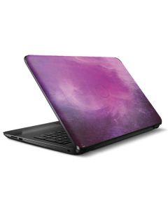 Purple Space Marble HP Notebook Skin