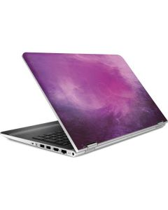 Purple Space Marble HP Pavilion Skin
