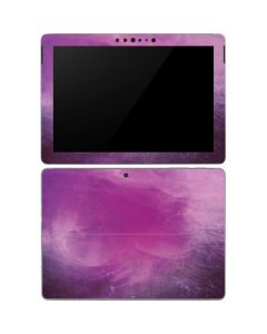 Purple Space Marble Surface Go Skin