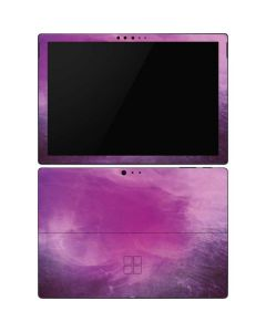 Purple Space Marble Surface Pro 6 Skin