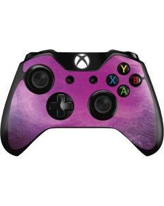 Purple Space Marble Xbox One Controller Skin