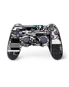 QR Glitch PS4 Pro/Slim Controller Skin