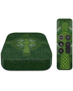 Radiant Cross - Green Apple TV Skin
