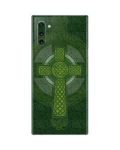 Radiant Cross - Green Galaxy Note 10 Skin