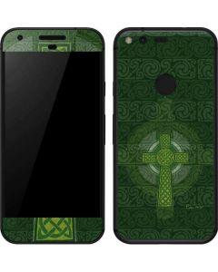 Radiant Cross - Green Google Pixel Skin