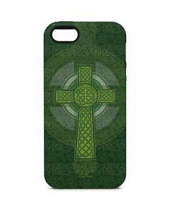 Radiant Cross - Green iPhone 5/5s/SE Pro Case