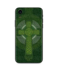 Radiant Cross - Green iPhone XR Skin