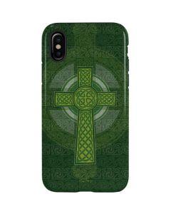 Radiant Cross - Green iPhone XS Pro Case