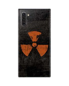 Radioactivity Black Galaxy Note 10 Skin