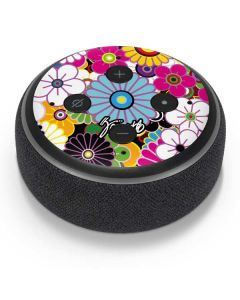Rainbow Flowerbed Amazon Echo Dot Skin