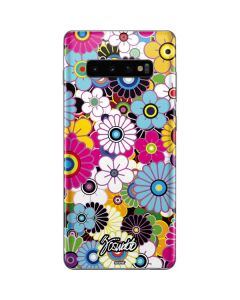 Rainbow Flowerbed Galaxy S10 Plus Skin