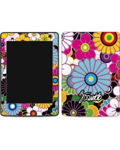 Rainbow Flowerbed Amazon Kindle Skin