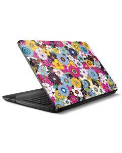 Rainbow Flowerbed HP Notebook Skin