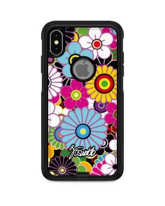 Rainbow Flowerbed Otterbox Commuter iPhone Skin