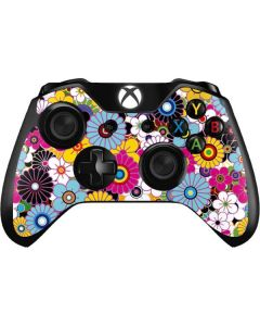 Rainbow Flowerbed Xbox One Controller Skin