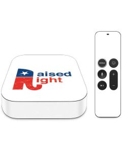 Raised Right Apple TV Skin