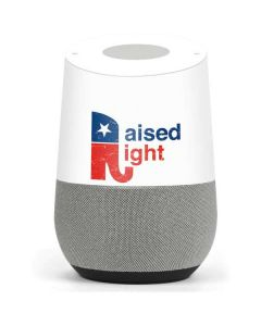 Raised Right Google Home Skin