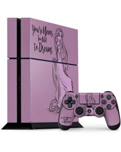 Rapunzel Never Too Old To Dream PS4 Console and Controller Bundle Skin