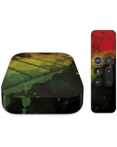 Rasta Color Keys Apple TV Skin