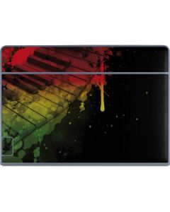 Rasta Color Keys Galaxy Book Keyboard Folio 12in Skin
