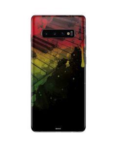 Rasta Color Keys Galaxy S10 Plus Skin