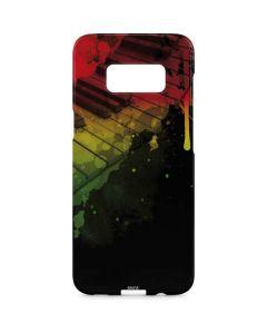 Rasta Color Keys Galaxy S8 Plus Lite Case