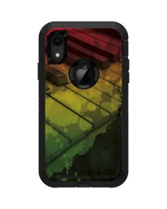 Rasta Color Keys Otterbox Defender iPhone Skin