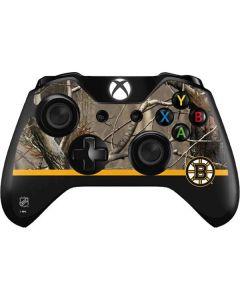 Realtree Camo Boston Bruins Xbox One Controller Skin