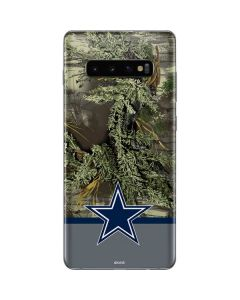 Realtree Camo Dallas Cowboys Galaxy S10 Plus Skin