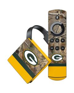 Realtree Camo Green Bay Packers Amazon Fire TV Skin