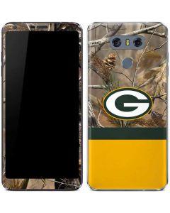 Realtree Camo Green Bay Packers LG G6 Skin