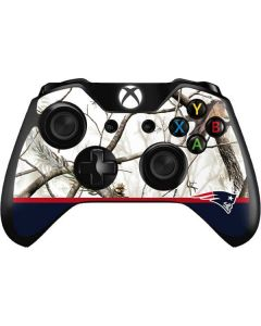 Realtree Camo New England Patriots Xbox One Controller Skin