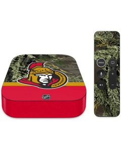 Realtree Camo Ottawa Senators Apple TV Skin