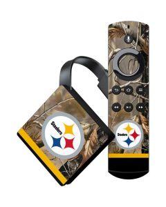 Realtree Camo Pittsburgh Steelers Amazon Fire TV Skin