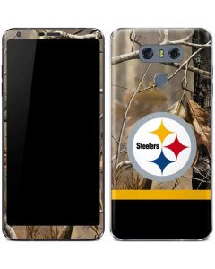 Realtree Camo Pittsburgh Steelers LG G6 Skin