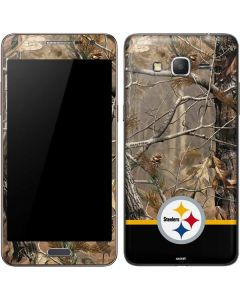 Realtree Camo Pittsburgh Steelers Galaxy Grand Prime Skin