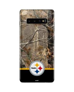 Realtree Camo Pittsburgh Steelers Galaxy S10 Plus Skin