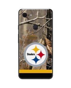 Realtree Camo Pittsburgh Steelers Google Pixel 3 XL Skin