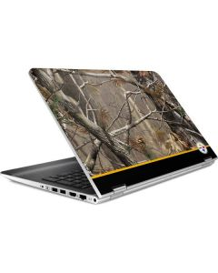 Realtree Camo Pittsburgh Steelers HP Pavilion Skin
