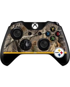 Realtree Camo Pittsburgh Steelers Xbox One Controller Skin