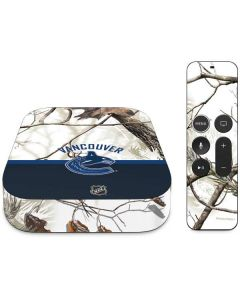 Realtree Camo Vancouver Canucks Apple TV Skin