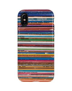 Records iPhone X Pro Case