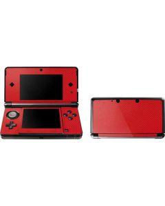 Red Carbon Fiber 3DS (2011) Skin