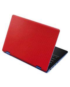 Red Carbon Fiber Aspire R11 11.6in Skin